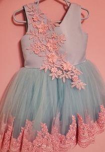 Girls flower girl/pageant dress